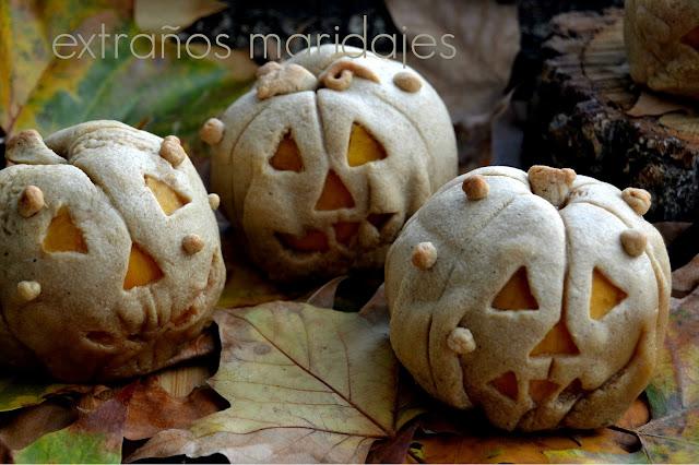 Melocotones Rellenos Para Halloween