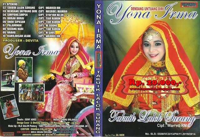 Yona Irma - Takuik Lalok Surang (Album Dendang Untuang Diri)