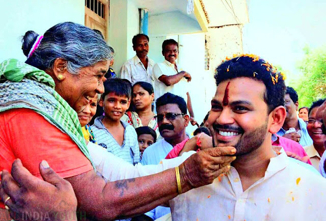 Ram Mohan Naidu with old people wallpaper