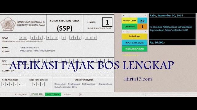 Download Aplikasi Pajak BOS Versi Terbaru