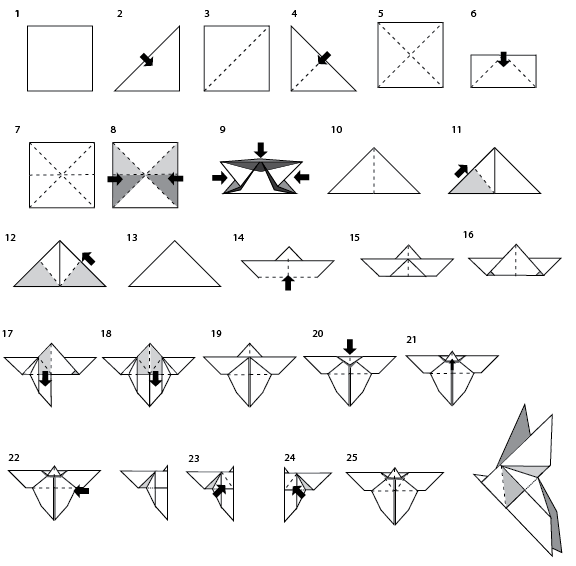 Fmp  Butterfly Origami Instructions