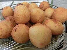 Resepi simple cucur bebola kentang untuk minum petang