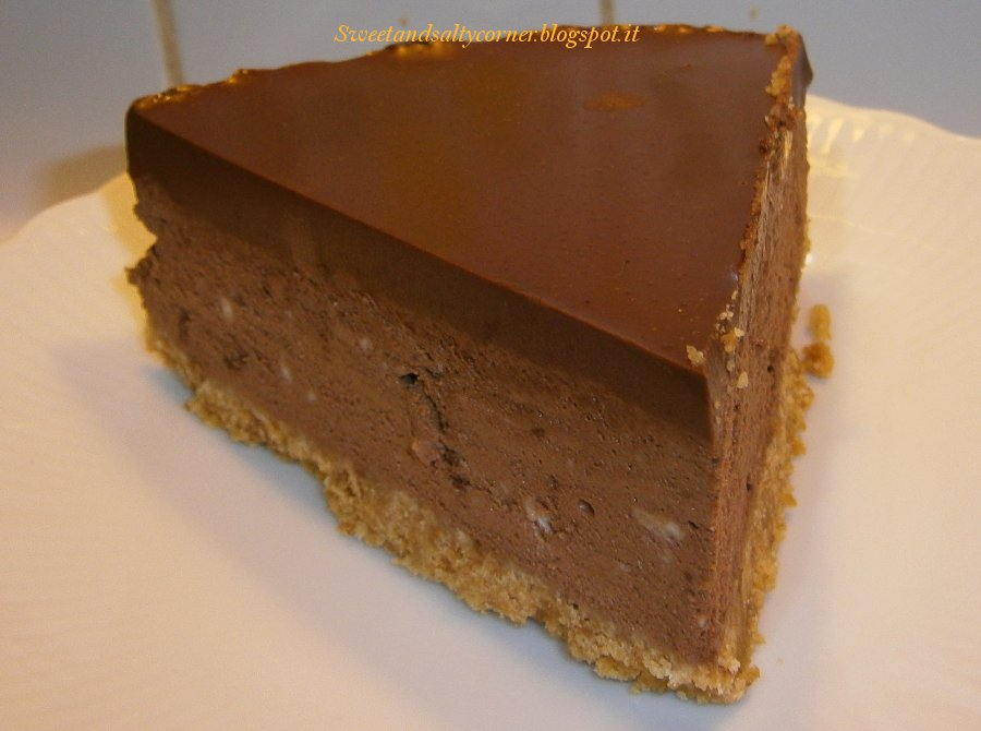 Top Torta fresca al cioccolato con ganache di cioccolato fondente  ME53