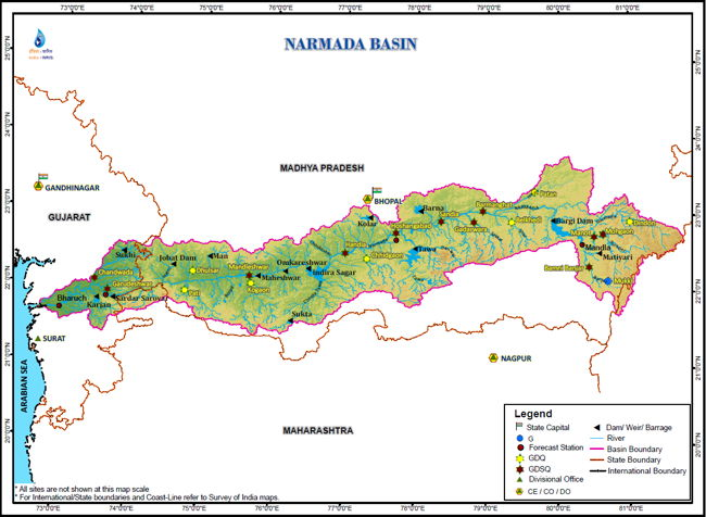 Narmada River Basin