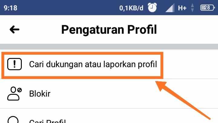 Cara menghapus kata sandi Facebook