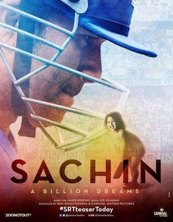 Sachin A Billion Dreams 2017 Full Hindi Mobile Movie HDTVRip Download
