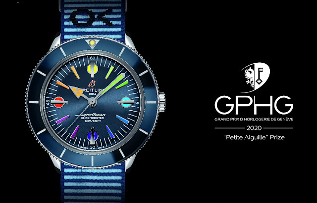 Breitling Wins Two Awards at the 20th Grand Prix de l'Horlogerie de Genève (GPHG)