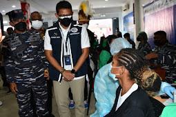 Sandiaga Uno Ajak Tamu PON XX Jangan Lupa Beli Produk Lokal Papua