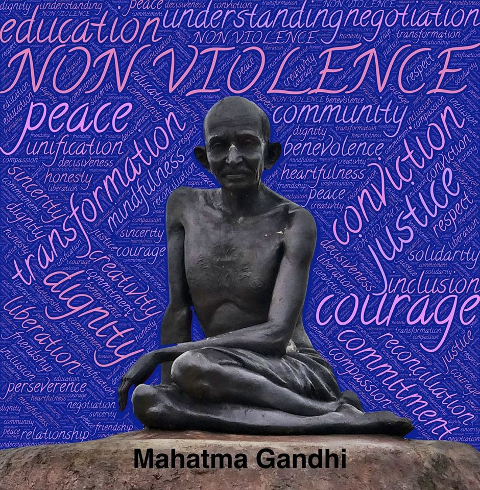 International Day of Non-Violence Wishes Sweet Images