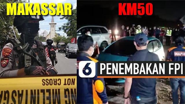 Investigas Bom Makassar Versus Investigas KM-50