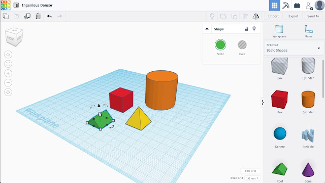 Tinkercad 3D Modeling Software