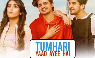 Tumhari Yaad Ayee Hai Lyrics in hindi  Goldie Sohel & Palak Muchchal