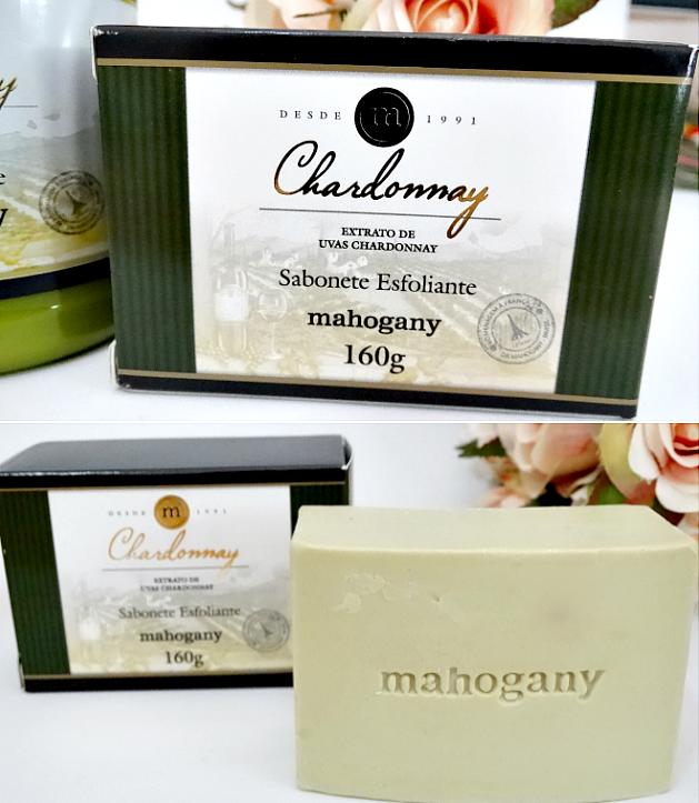 Conjunto Chardonnay (sabonete em barra + óleo em creme) da Mahogany 2