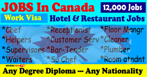 Hotel Jobs In Canada - worldswin | Find latest jobs in