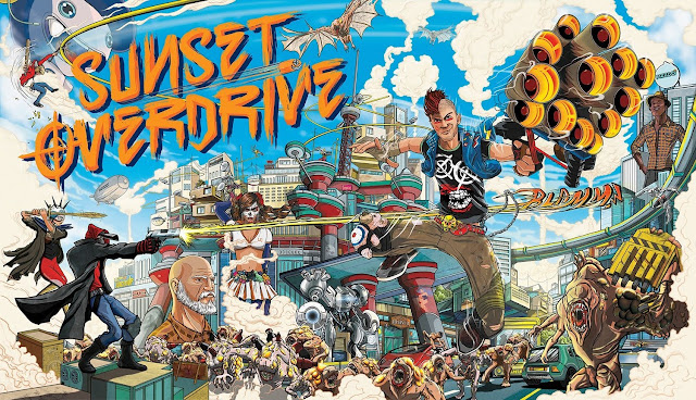 Insomniac Games busca distribuidora para Sunset Overdrive 2