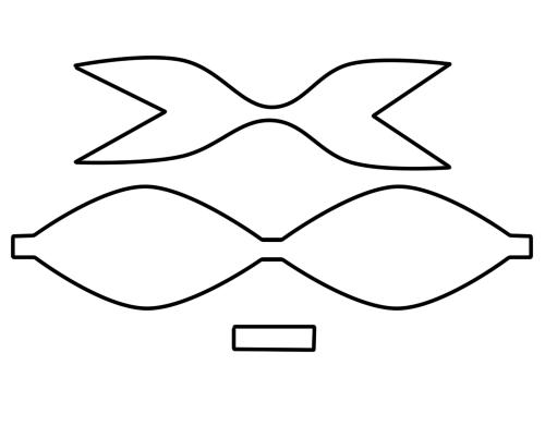 Molde do laço de EVA