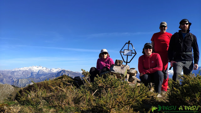Foto de cima en el Pico Cunio