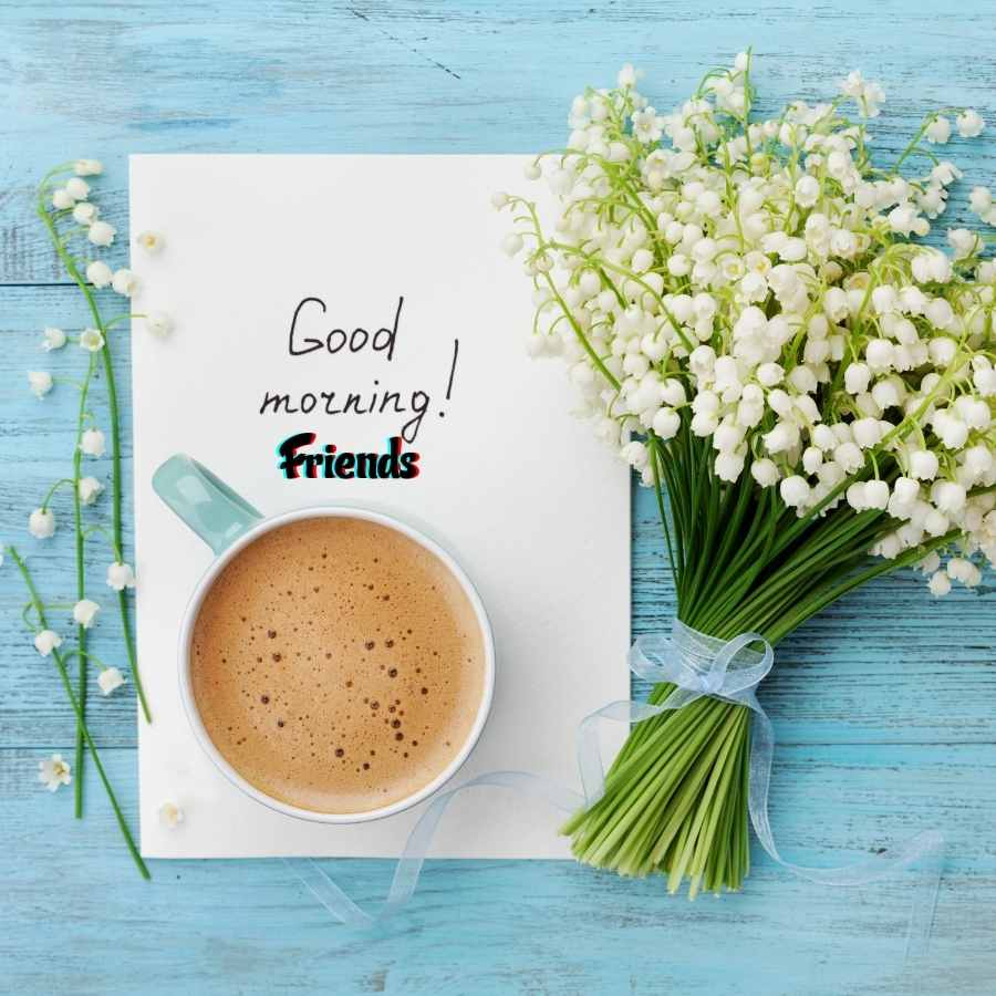 cute good morning friendship images