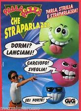 Pubblicità della Palla Pazza che Straparlazza, il giocattolo degli anni '90