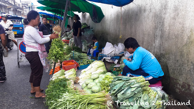 Local fresh market in Chiang Rai, North Thailand