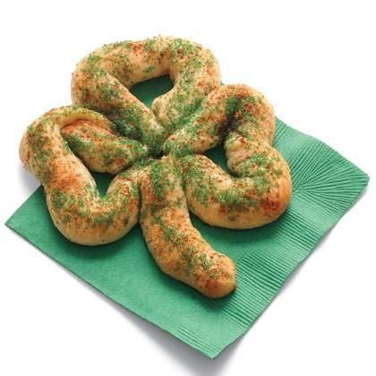 Sweet Shamrock Pretzels Recipe