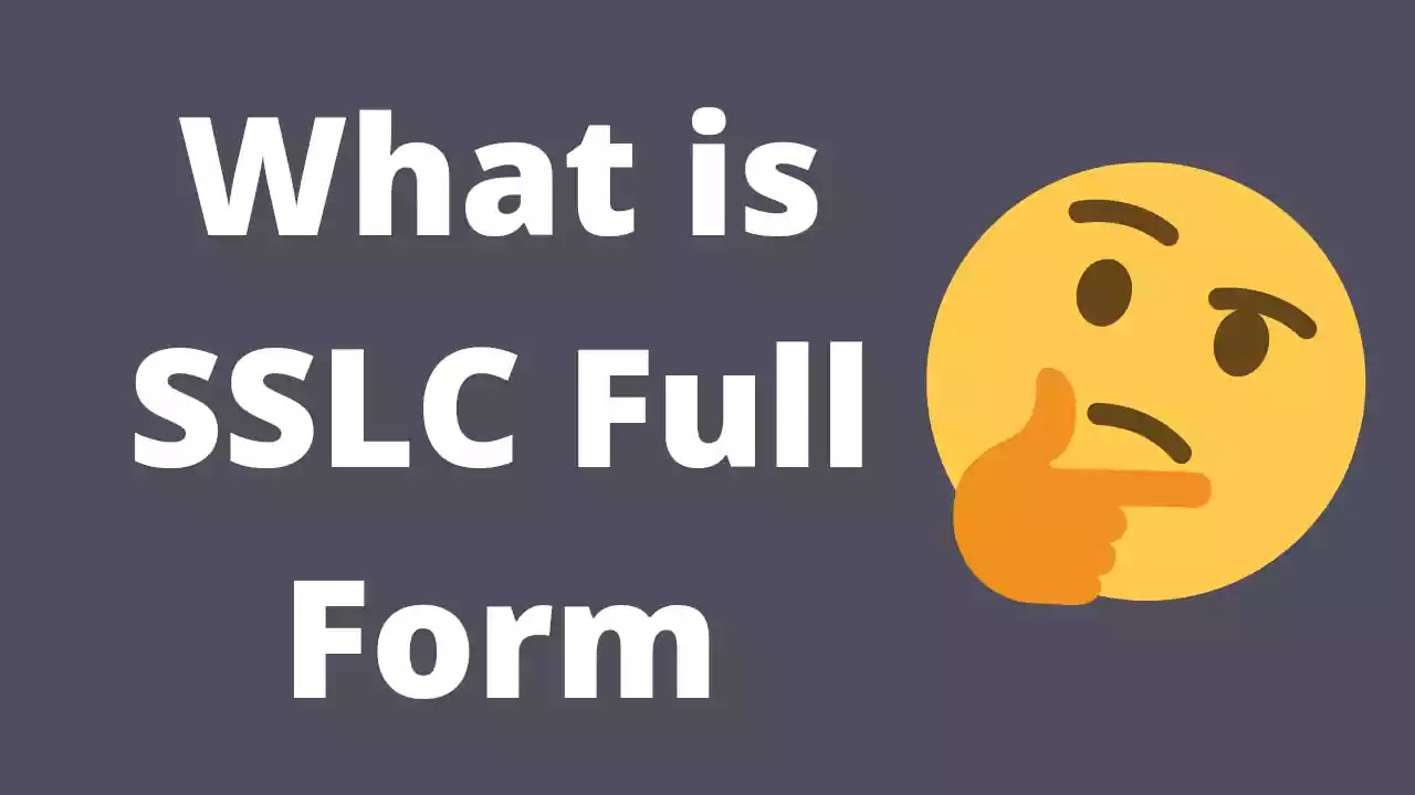 sslc-full-form