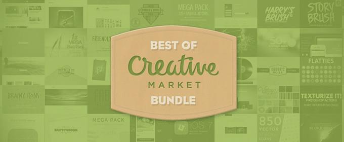 Chia sẻ gần 600 item đồ họa cực chất trên Creative Market