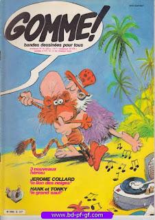 Gomme!, numéro 9, 1982, Jérome Collard
