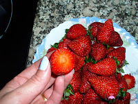 Cortando parte atrás fresas