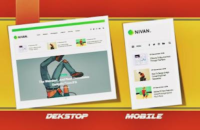 blogger template gratis nivan