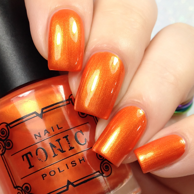 Tonic Polish-Orange Crush