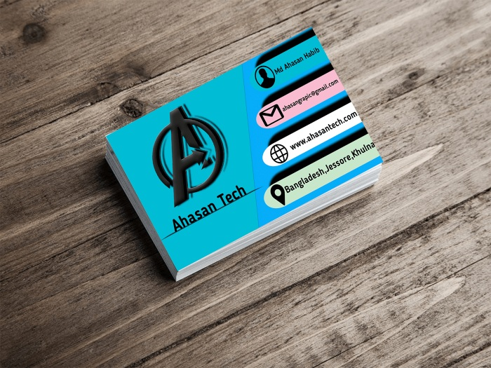 I will design amazing business card!