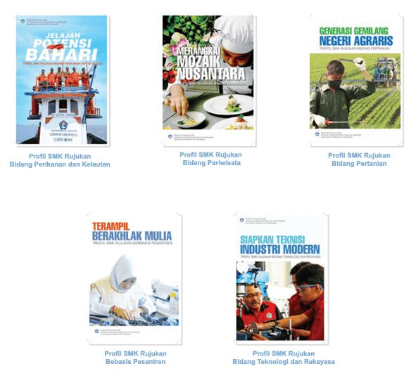 Terdiri dari Bidang Perikanan dan Kelautan Buku Profil 5 Bidang SMK Rujukan