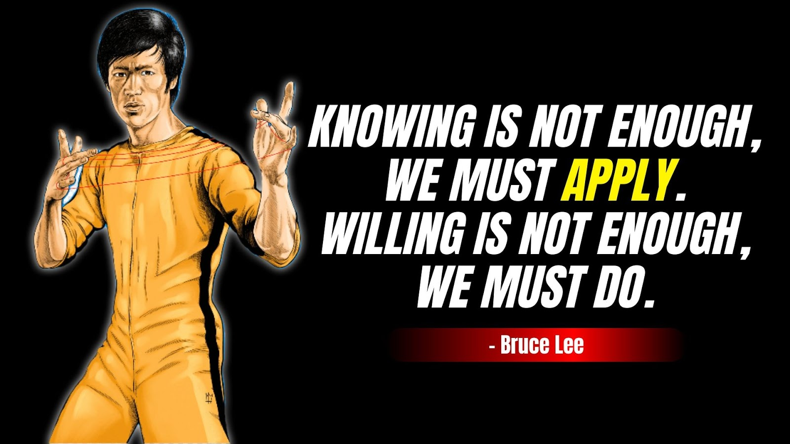 Bruce Lee Quotes about hardwork