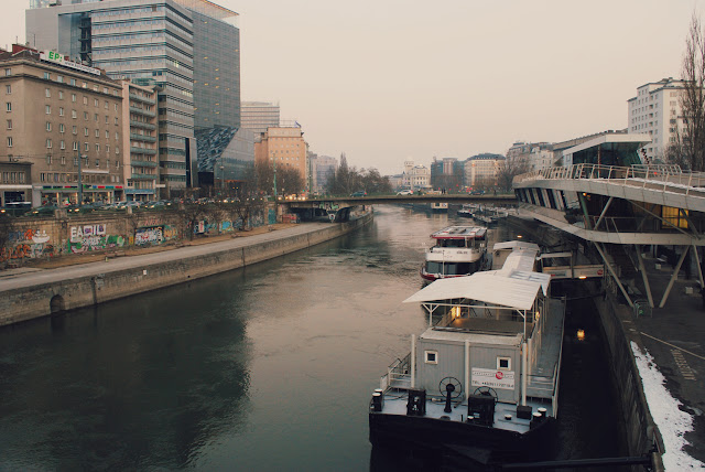 The Donaukanal Vienna