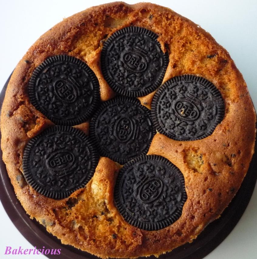 Bakericious: Oreo Butter Cake