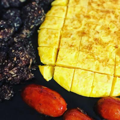 Morcilla-chorizo-tortilla