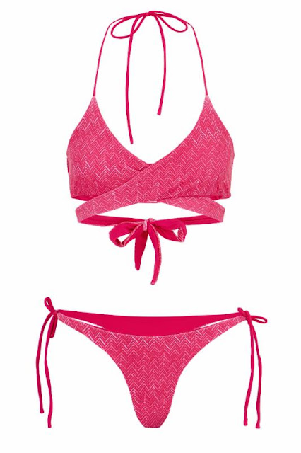 Malibu Top and Bottom in Moroccan Splash Bikini
