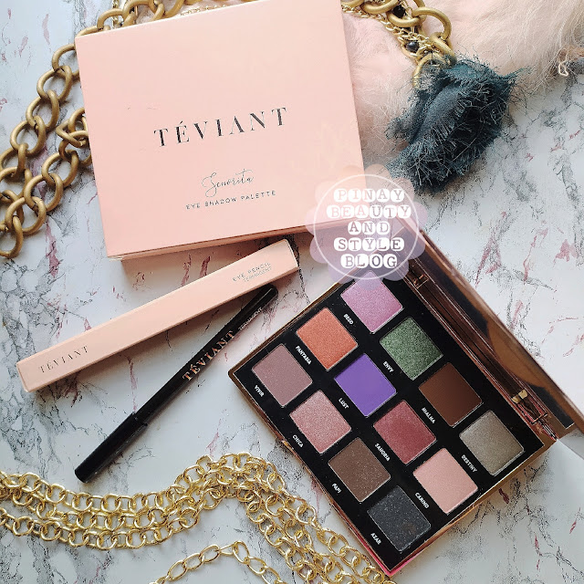 Teviant Senorita Eyeshadow Swatches and Review - A Versatile Neutral Palette With Pops of Color