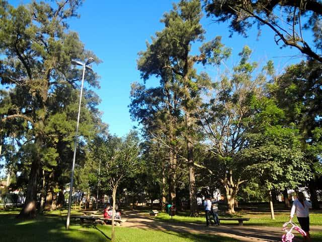 Parque Severo Gomes em São Paulo