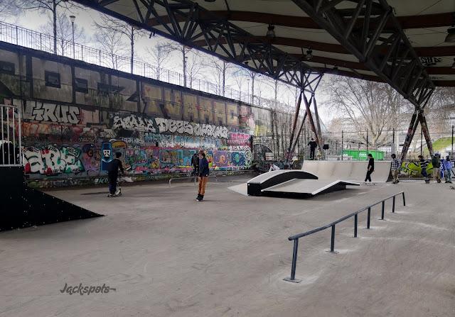 nouveau skatepark paris bercy