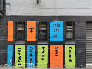 Manly Street Art by Ruth Downes