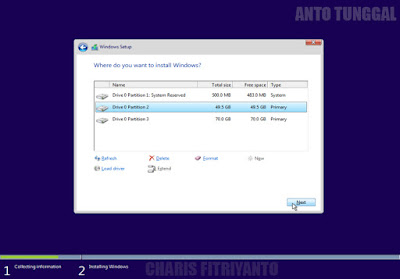 cara menginstall windows 10