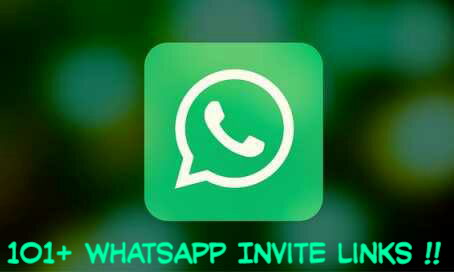 Top 101 whatsapp invite links.