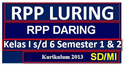 Unduh RPP K-13 Daring Dan Luring Update Terbaru