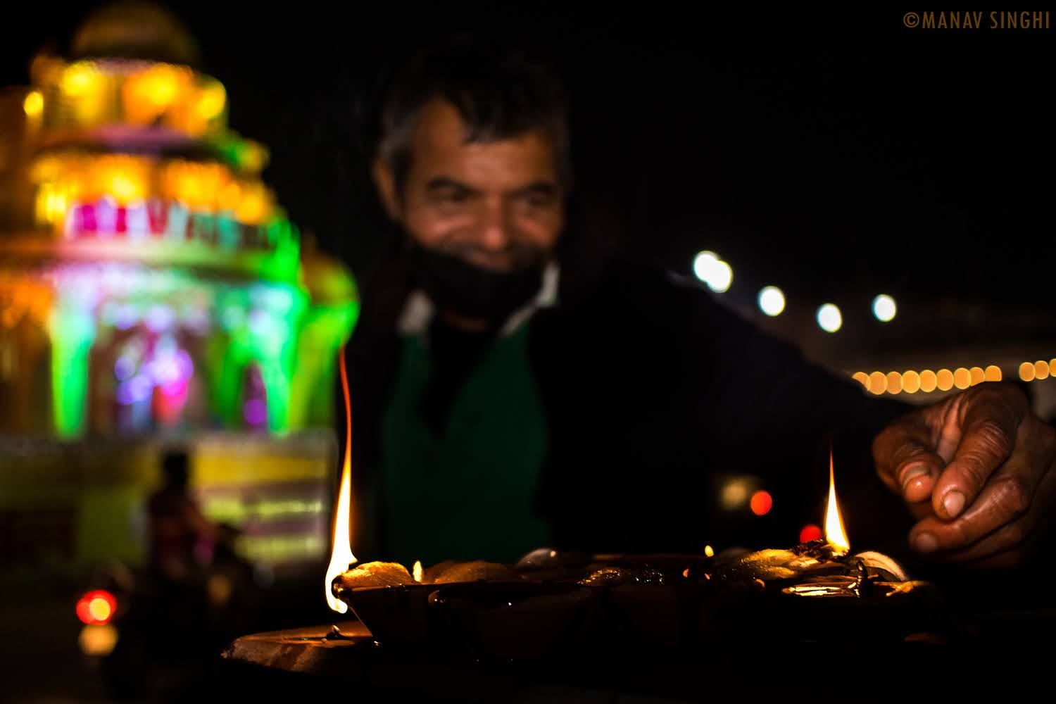 Diwali Decoration - Choti Chopar, Jaipur 2020 and Street Photography.