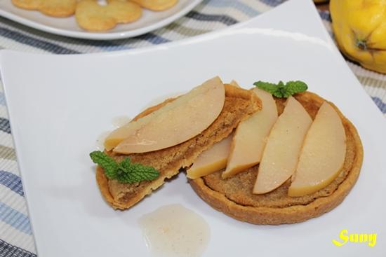 Pasta Sablé y Tartitas con frangipane y menbrillo (FC)