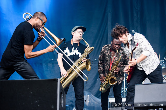 Trombone Shorty and Orleans Avenue on the Garrison Stage at Field Trip 2018 on June 3, 2018 Photo by John Ordean at One In Ten Words oneintenwords.com toronto indie alternative live music blog concert photography pictures photos