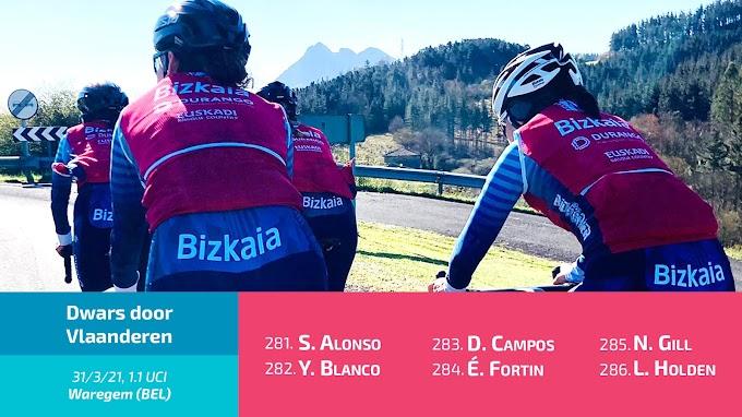 El Bizkaia - Durango participará en la Dwars door Vlaanderen