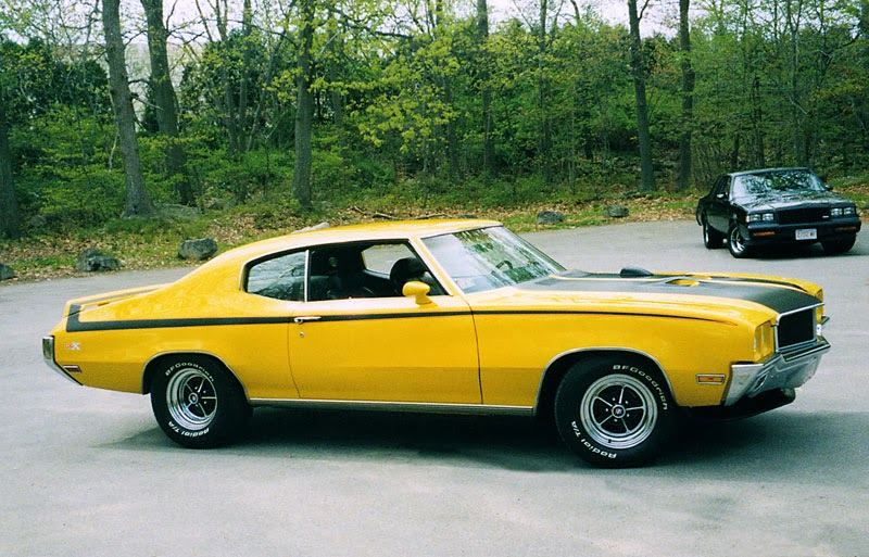 Buick Gsx Side View